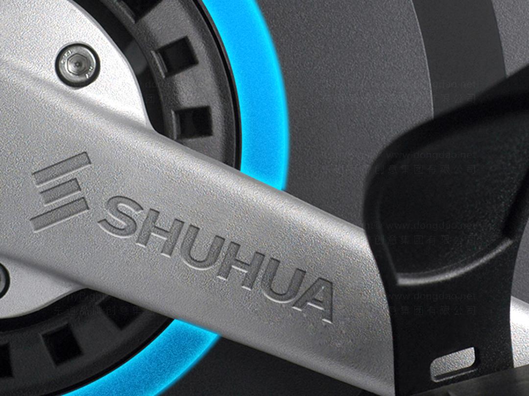 品牌设计舒华logo设计、vi设计应用场景_8