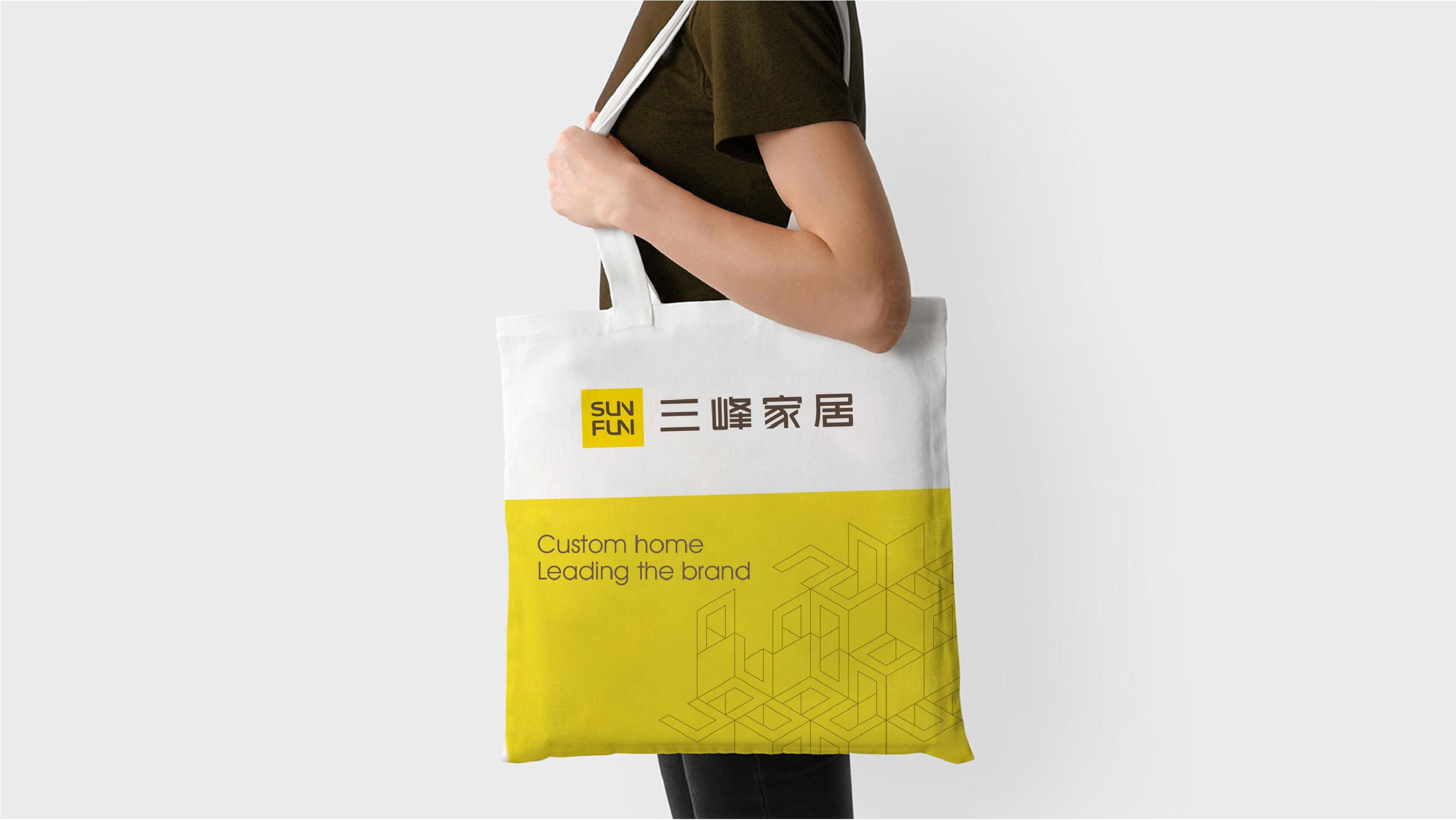 品牌设计三峰木门LOGO&VI设计应用场景_8
