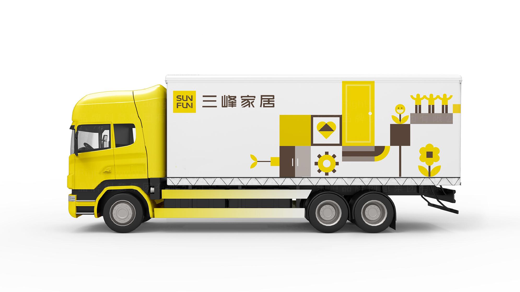 品牌设计三峰木门LOGO&VI设计应用场景_10