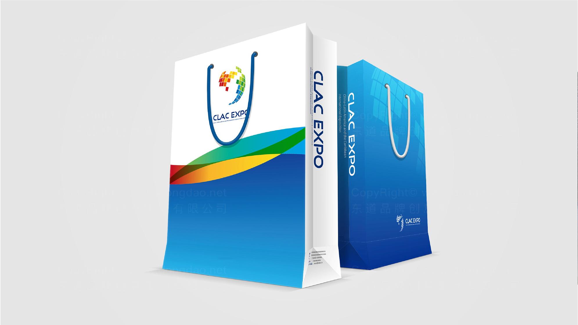 中拉国际博览会logo设计、vi设计应用场景