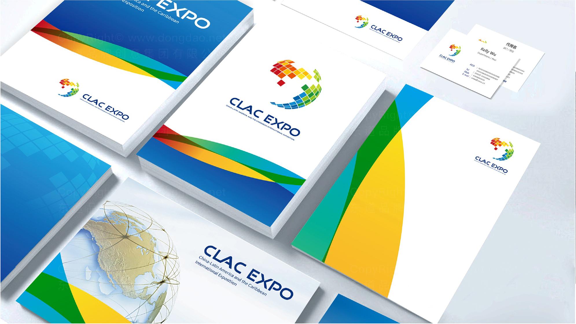 中拉国际博览会logo设计、vi设计应用场景_2