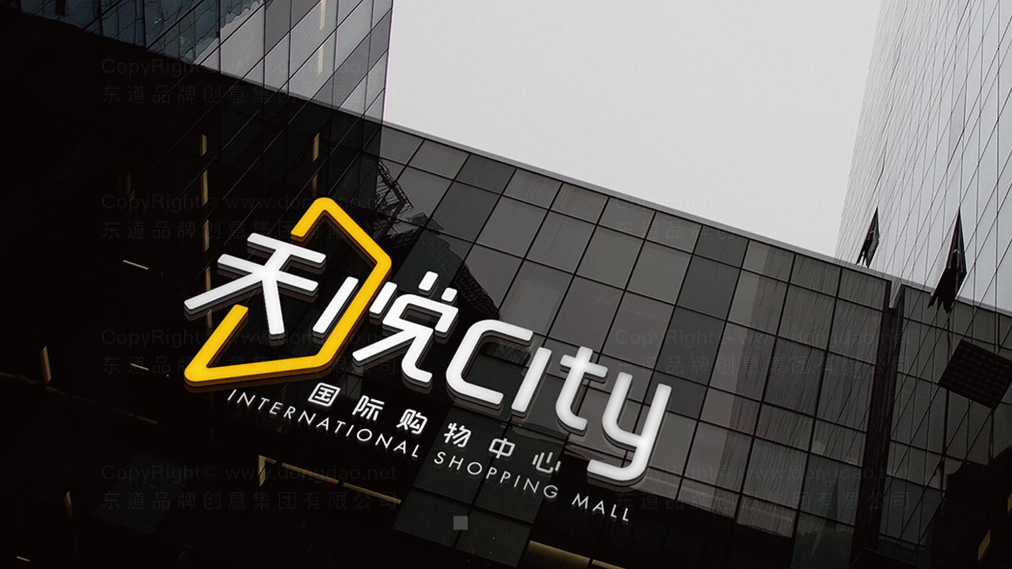 品牌设计天悦购物中心LOGO&VI设计应用场景_1