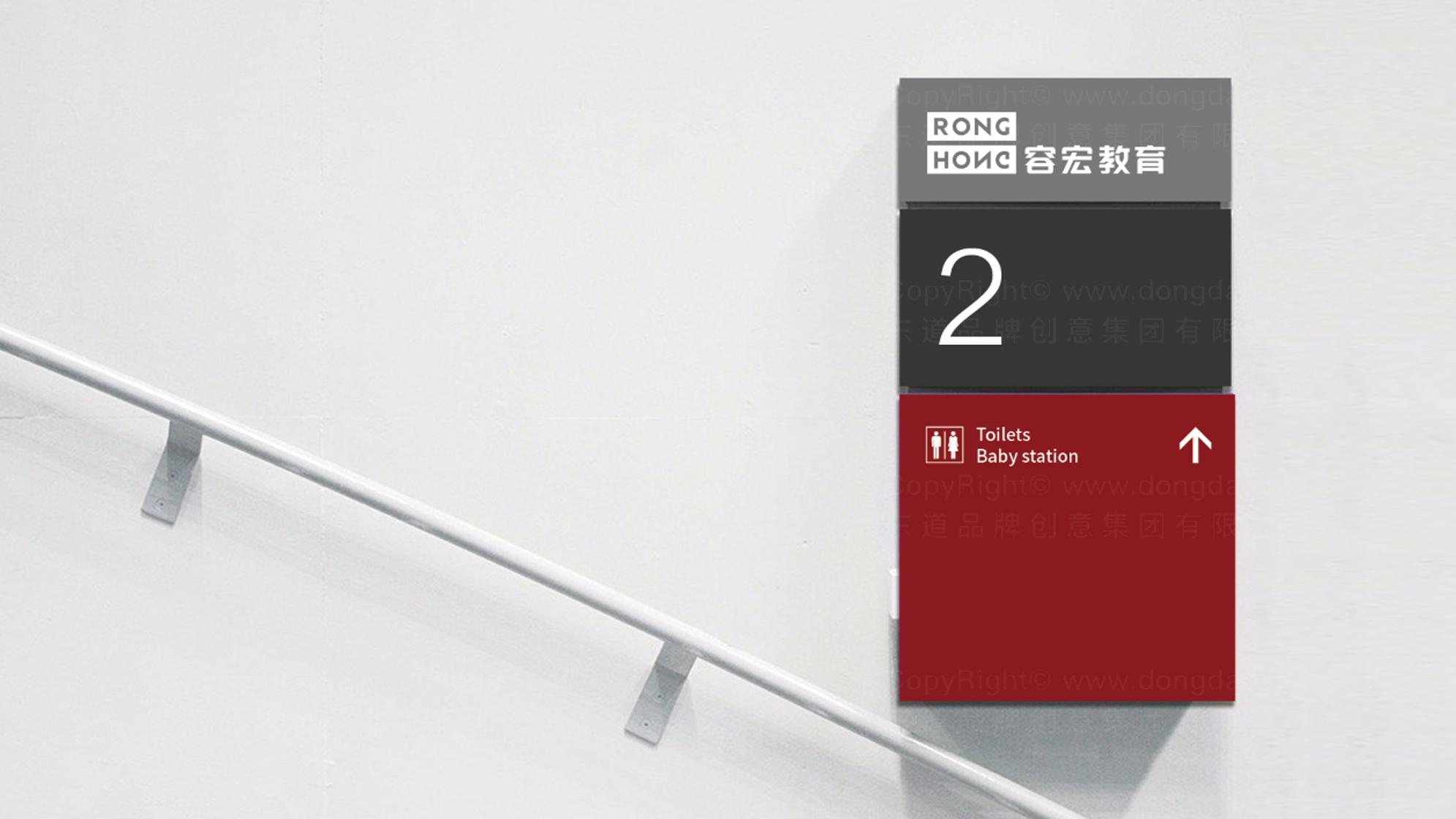 品牌设计容宏教育LOGO&VI设计应用