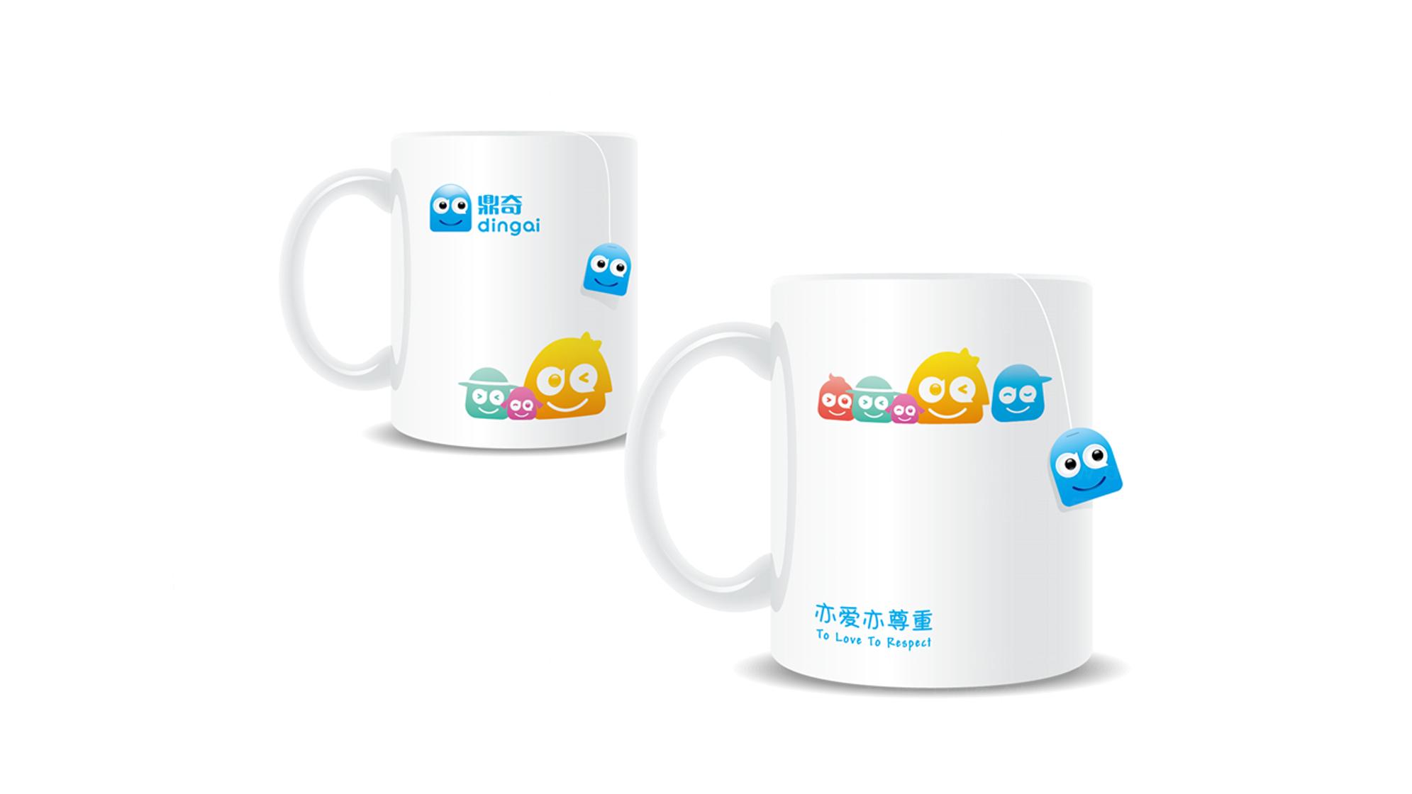 品牌设计鼎奇幼儿园LOGO&VI设计应用场景_1