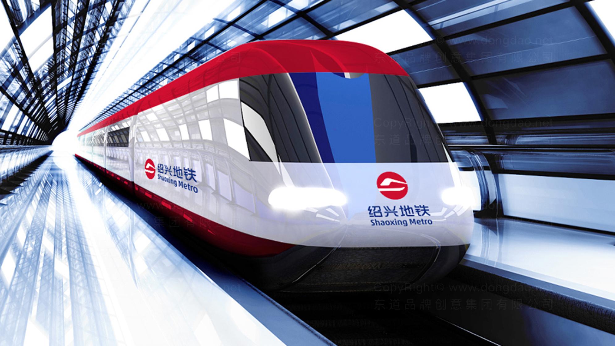 交通运输品牌设计绍兴地铁LOGO&VI设计