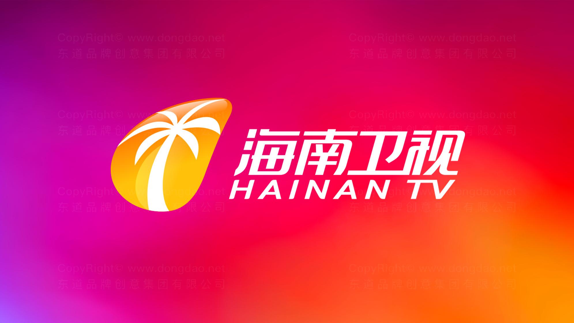 品牌设计案例海南卫视标志设计