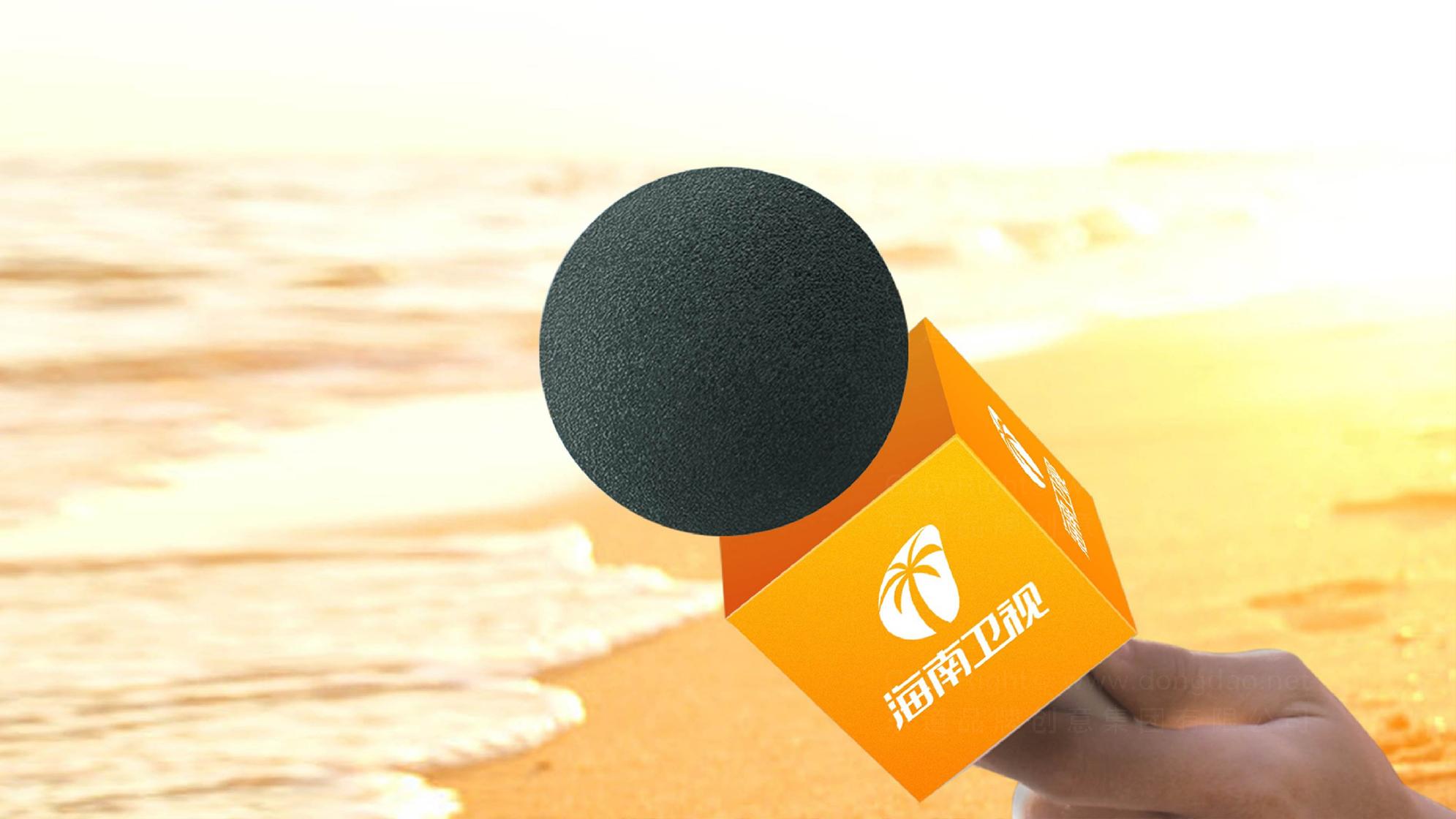 品牌设计海南卫视标志设计应用场景_3