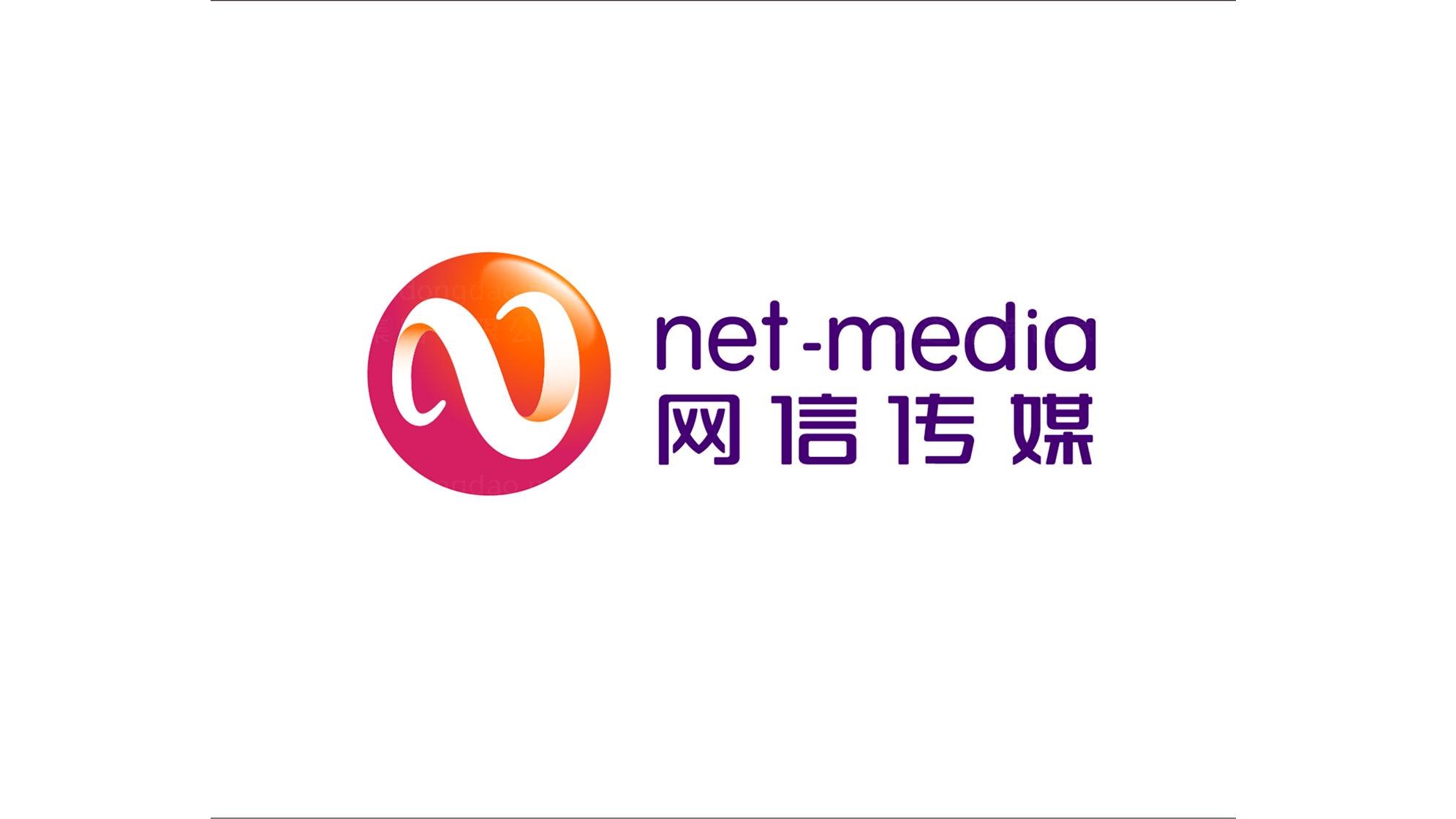 文体娱媒品牌设计网信传媒标志设计