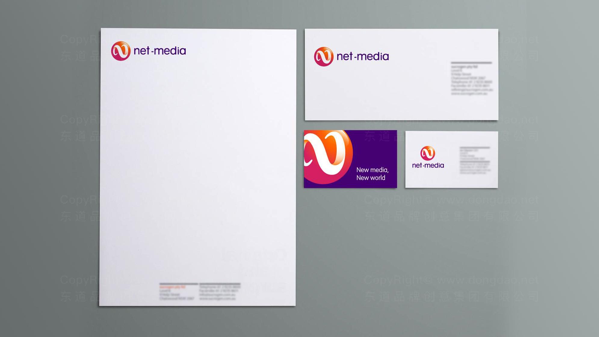 品牌设计网信传媒标志设计应用场景_2