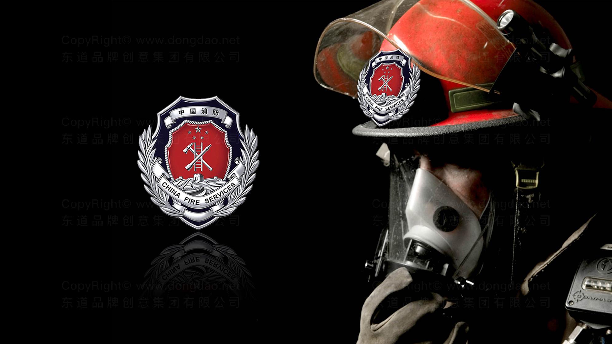 品牌设计中国消防LOGO优化&VI设计应用