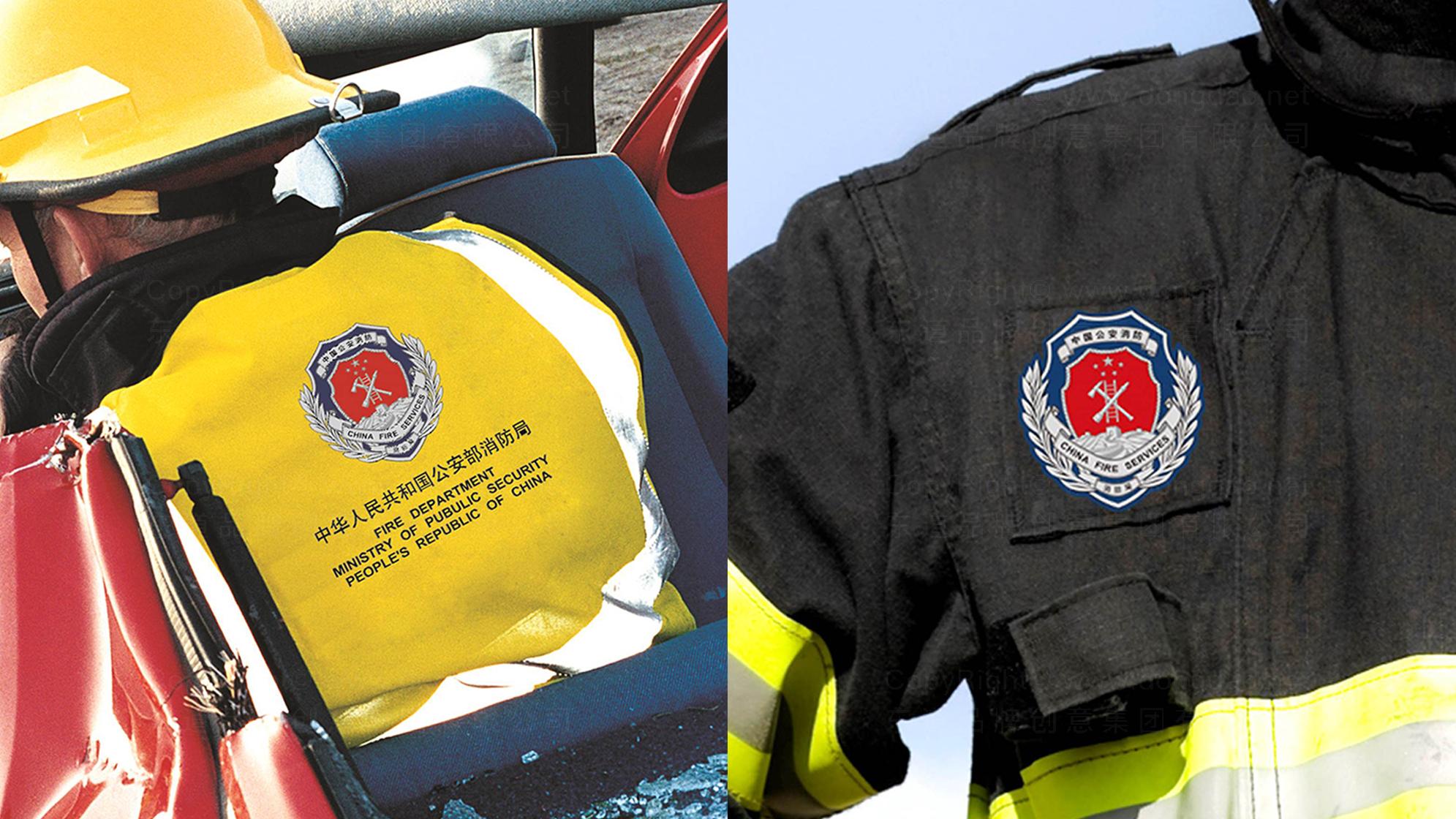 品牌设计中国消防LOGO优化&VI设计应用场景_1