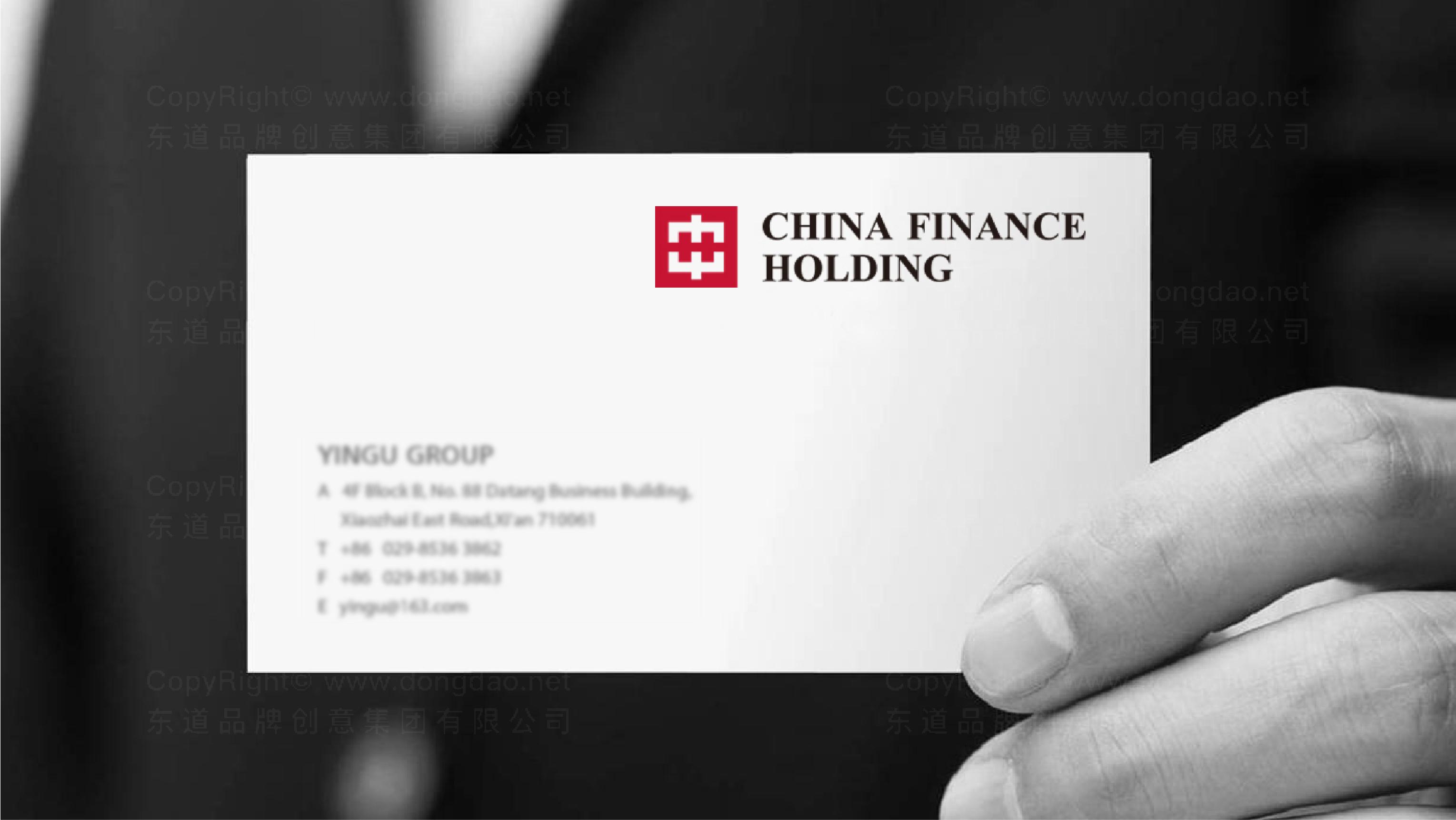 品牌设计中华金融控股标志设计应用场景