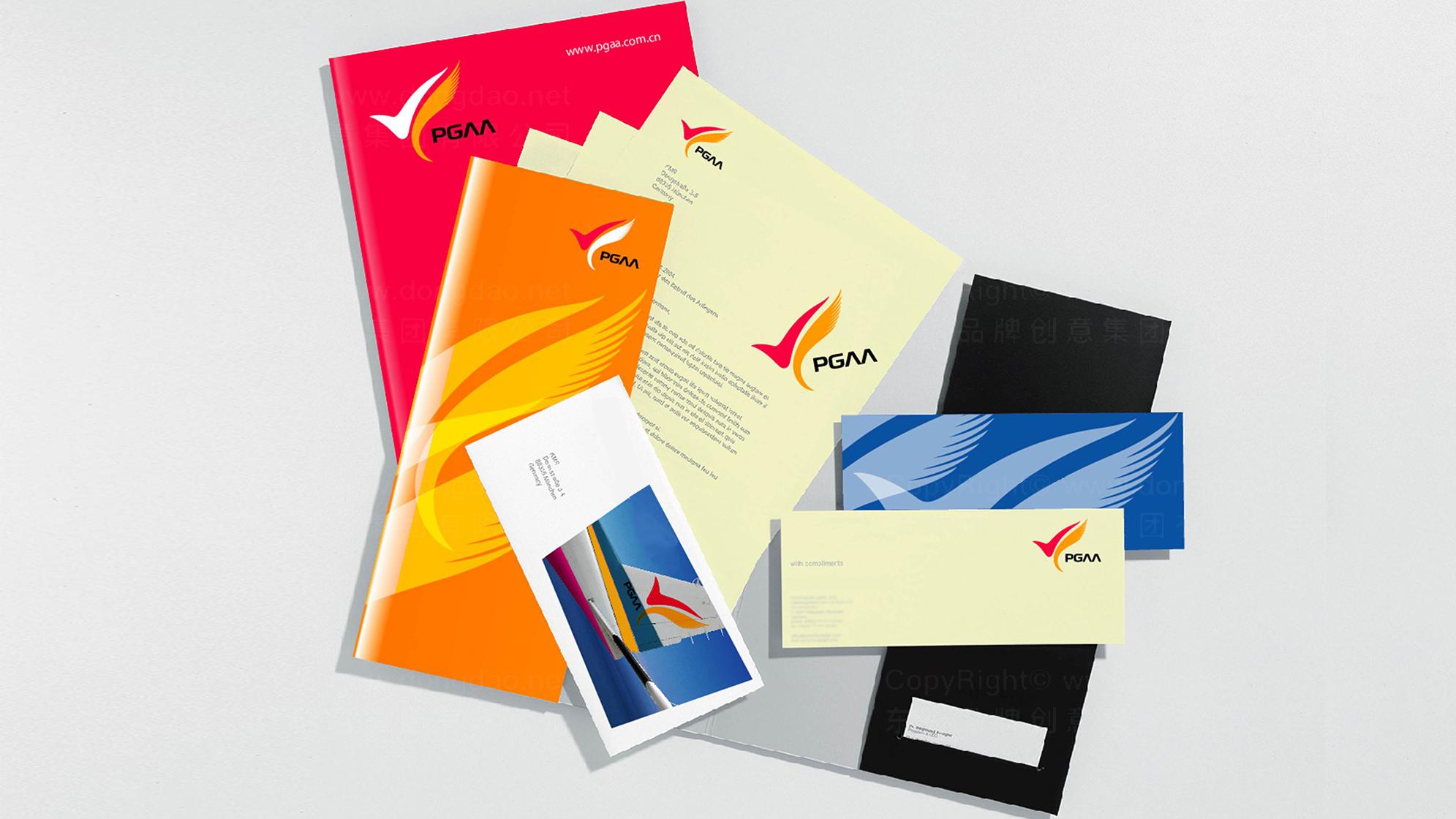 品牌设计凤凰通用航空标志设计应用