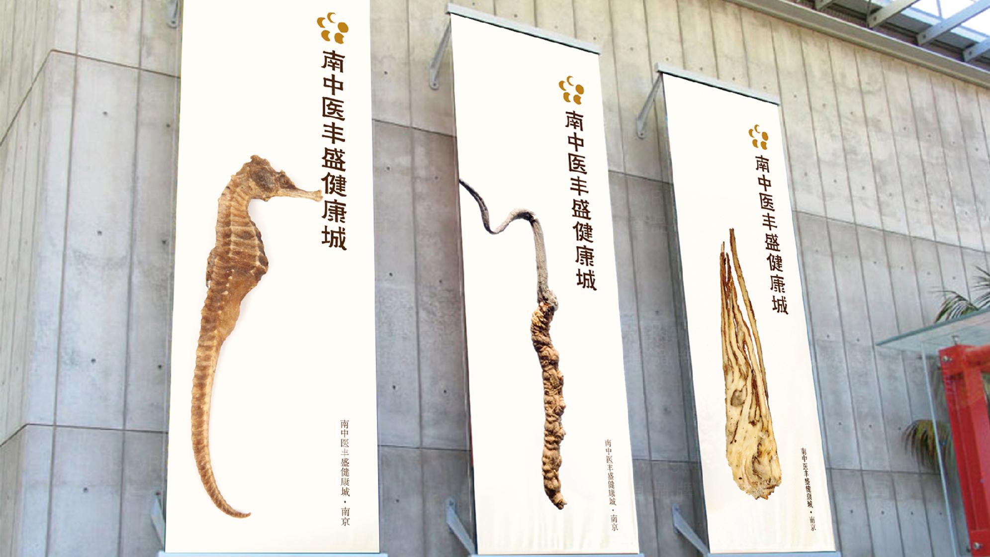 品牌设计南中医丰盛健康城LOGO&VI设计应用场景_12