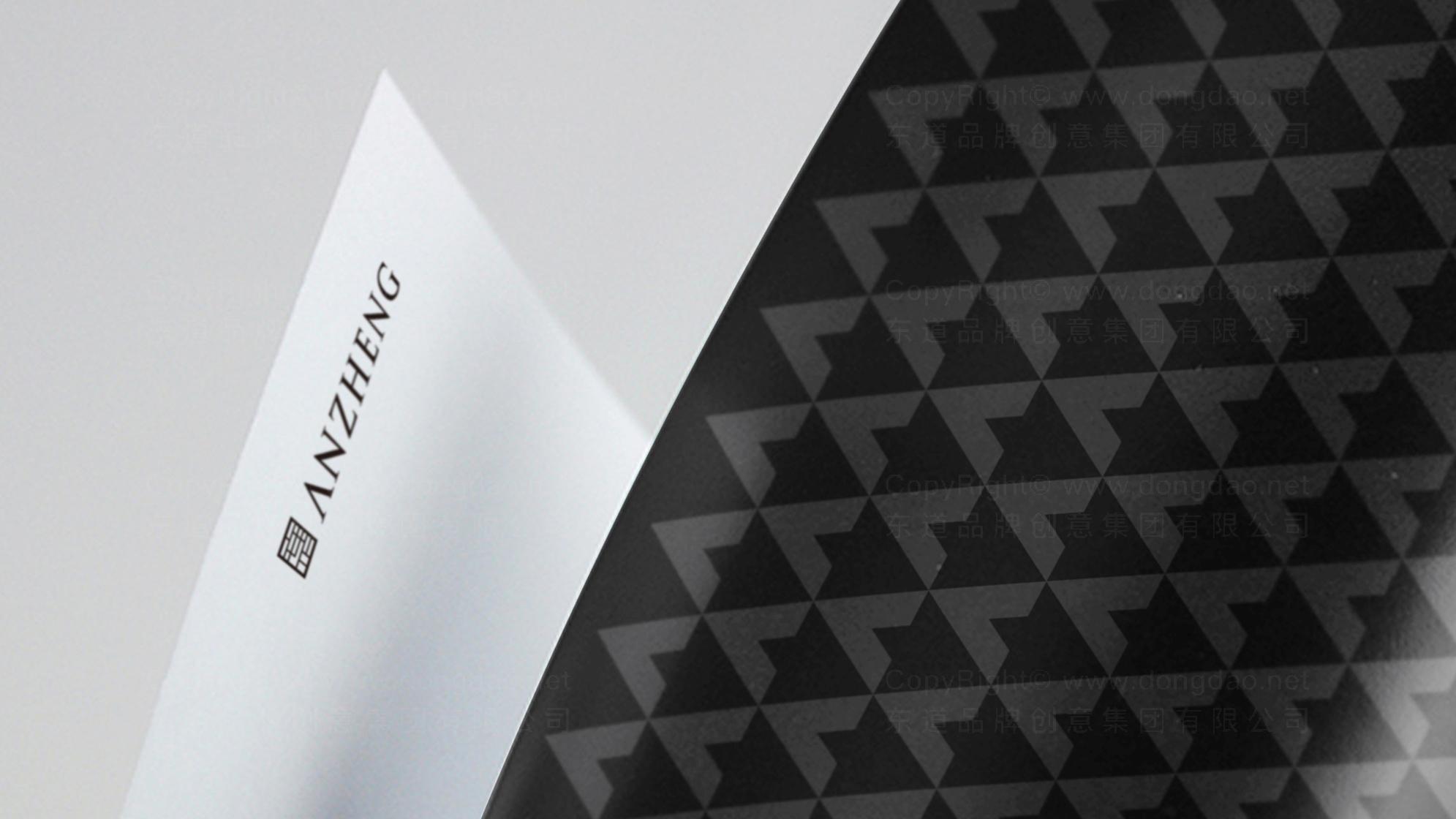 品牌设计安正时尚集团LOGO&VI设计应用场景