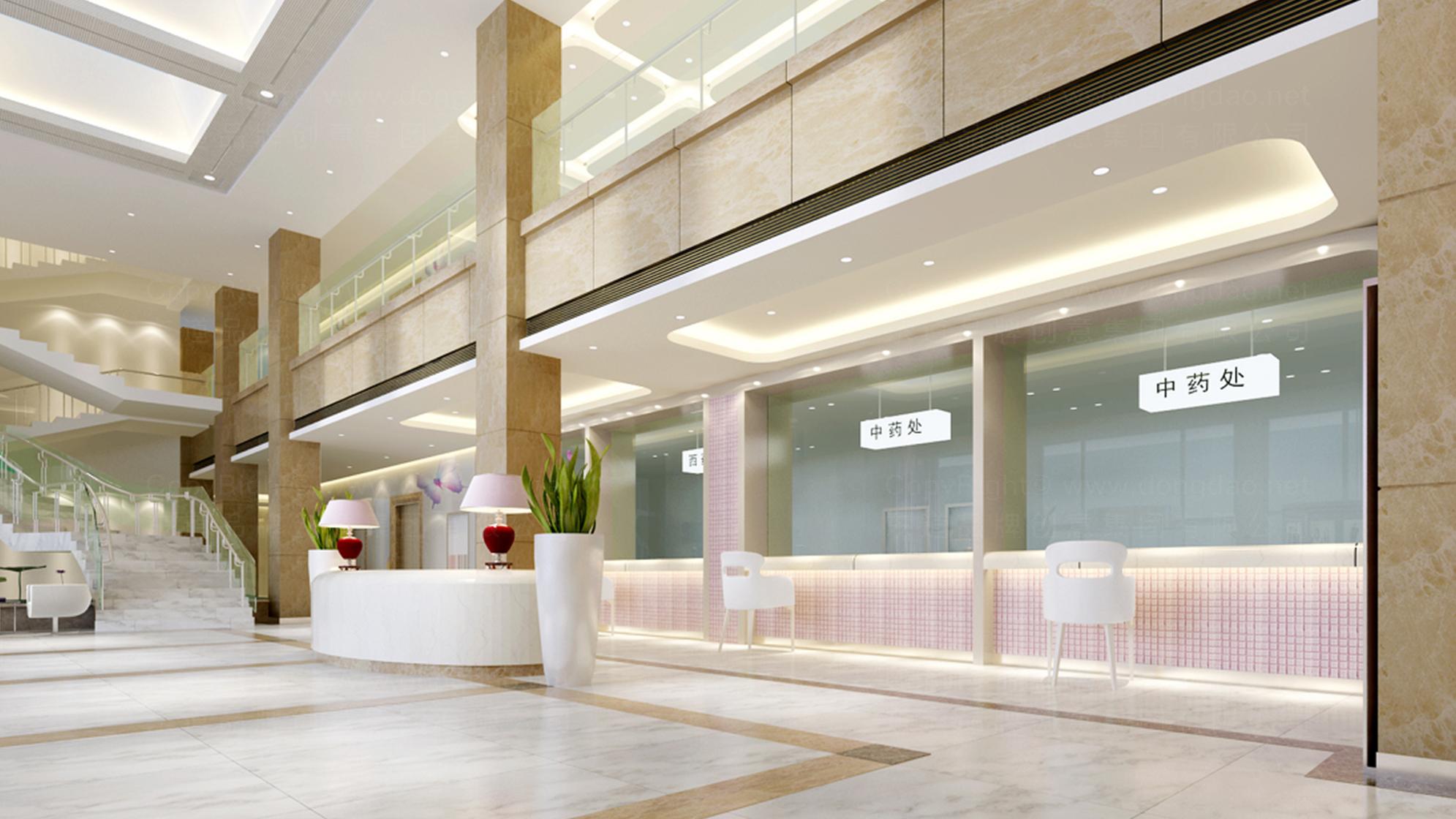 品牌设计北京五洲女子医院LOGO&VI设计应用场景_2