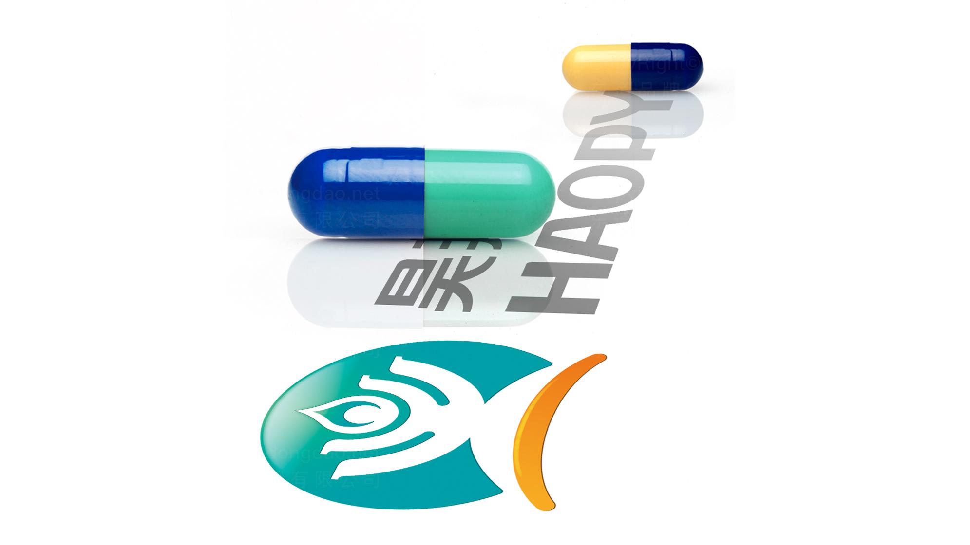 制药医疗品牌设计昊邦医药LOGO&VI设计