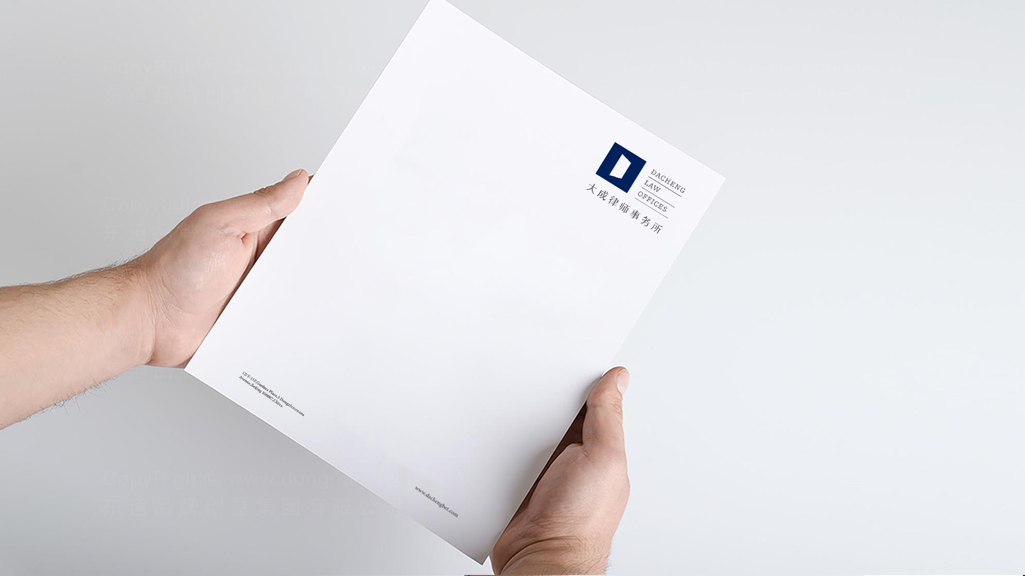 品牌设计大成律师事务所标志设计应用场景_3