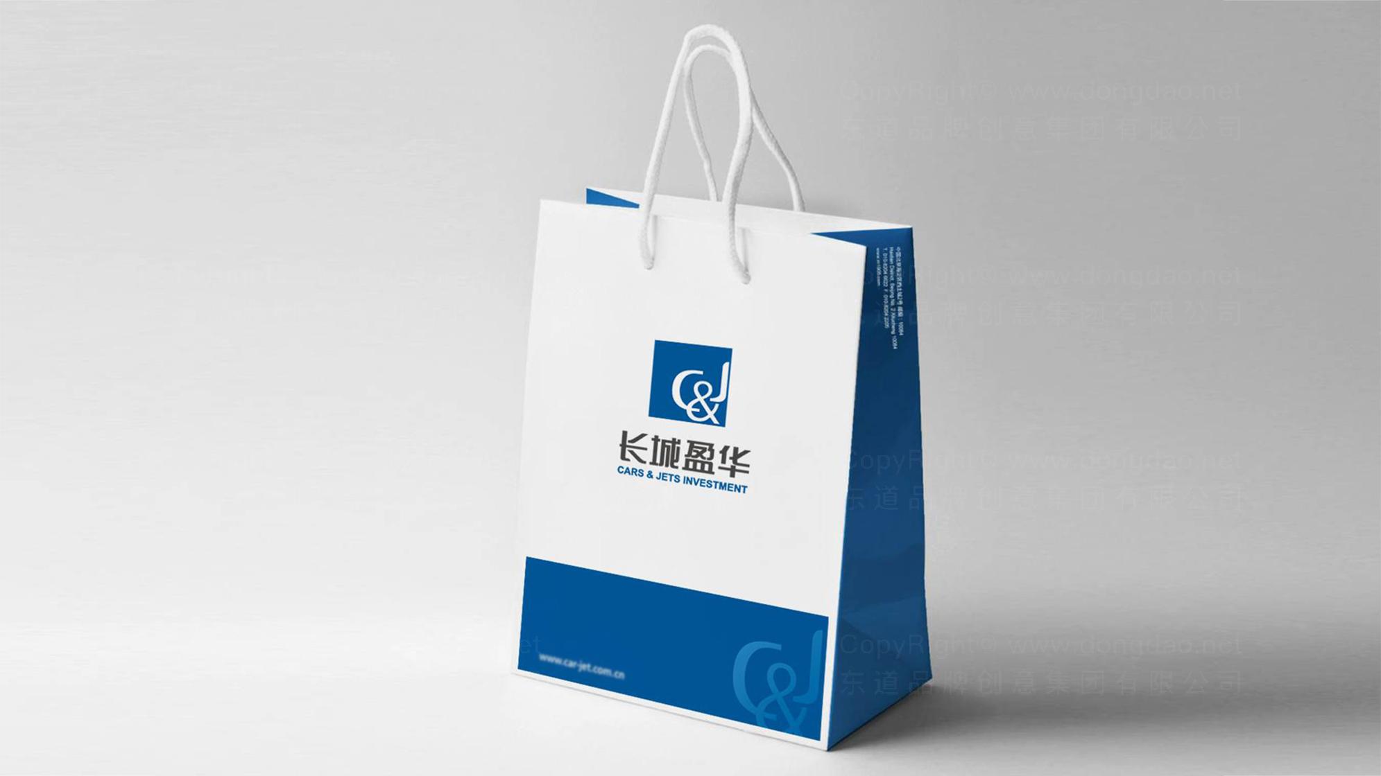 品牌设计长城盈华LOGO&VI设计应用场景_3