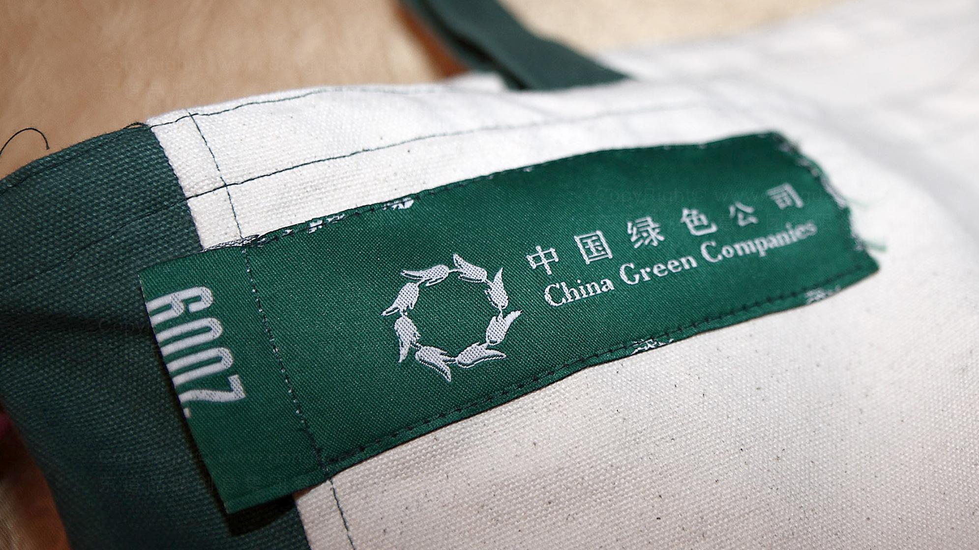 品牌设计2010中国绿公司年会LOGO设计应用场景_11