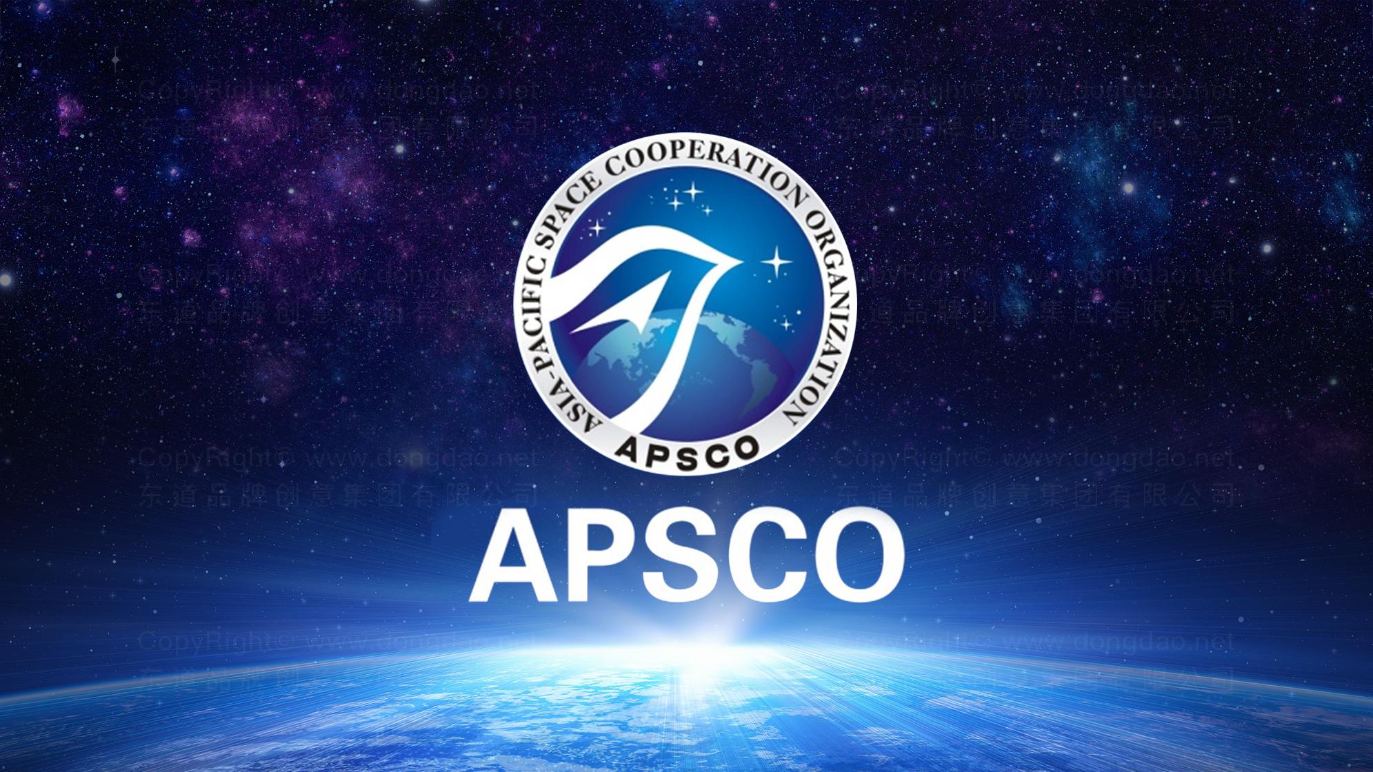 品牌设计案例亚太空间合作组织LOGO&VI设计