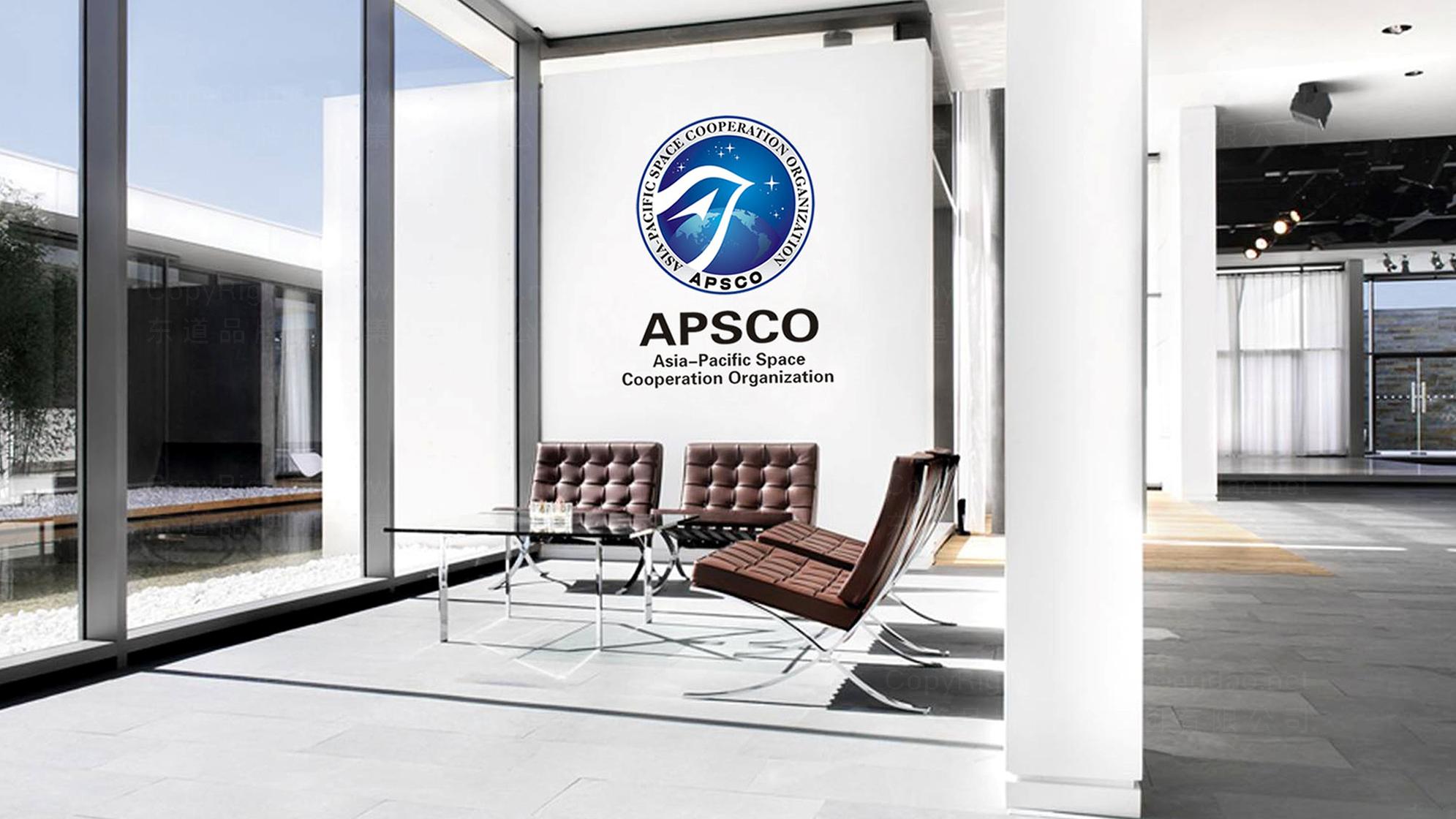 品牌设计亚太空间合作组织LOGO&VI设计应用场景_5
