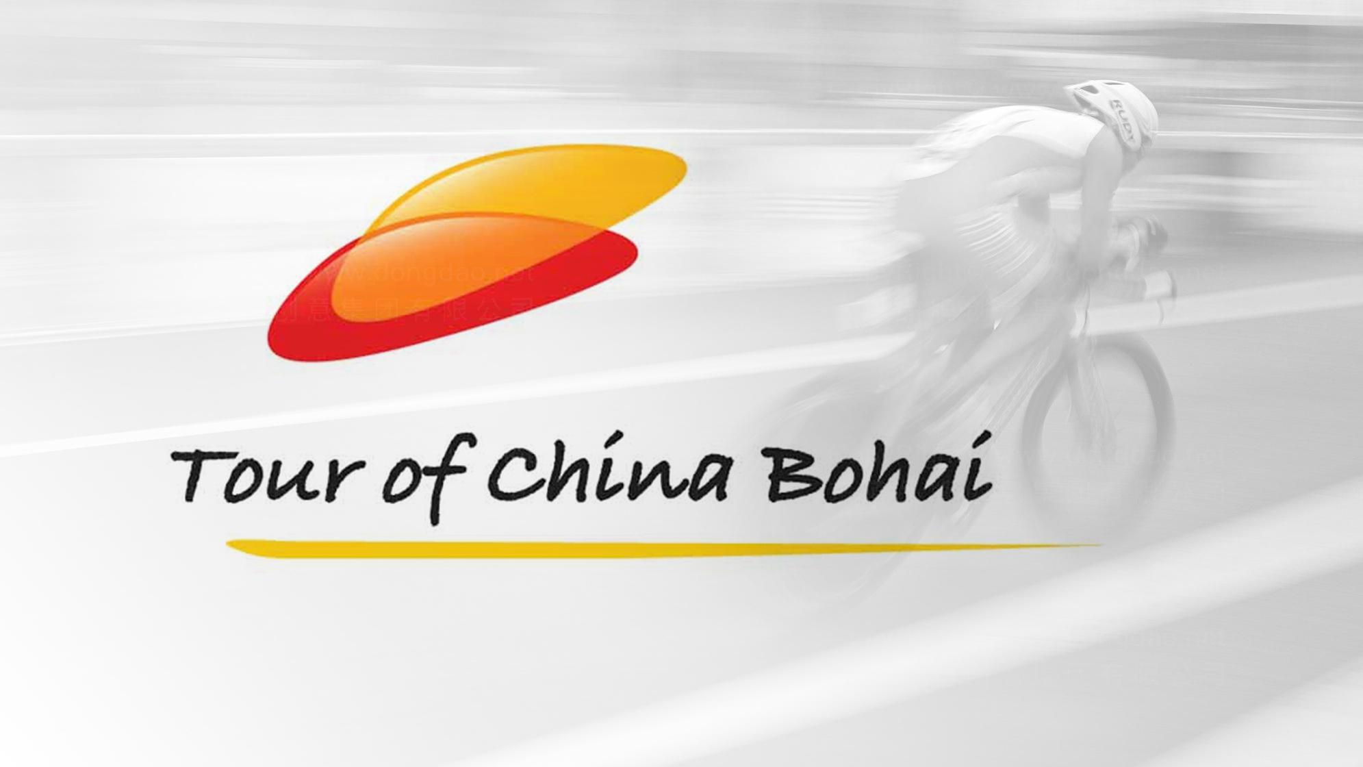 品牌设计案例环中国渤海国际公路自行车赛LOGO设计