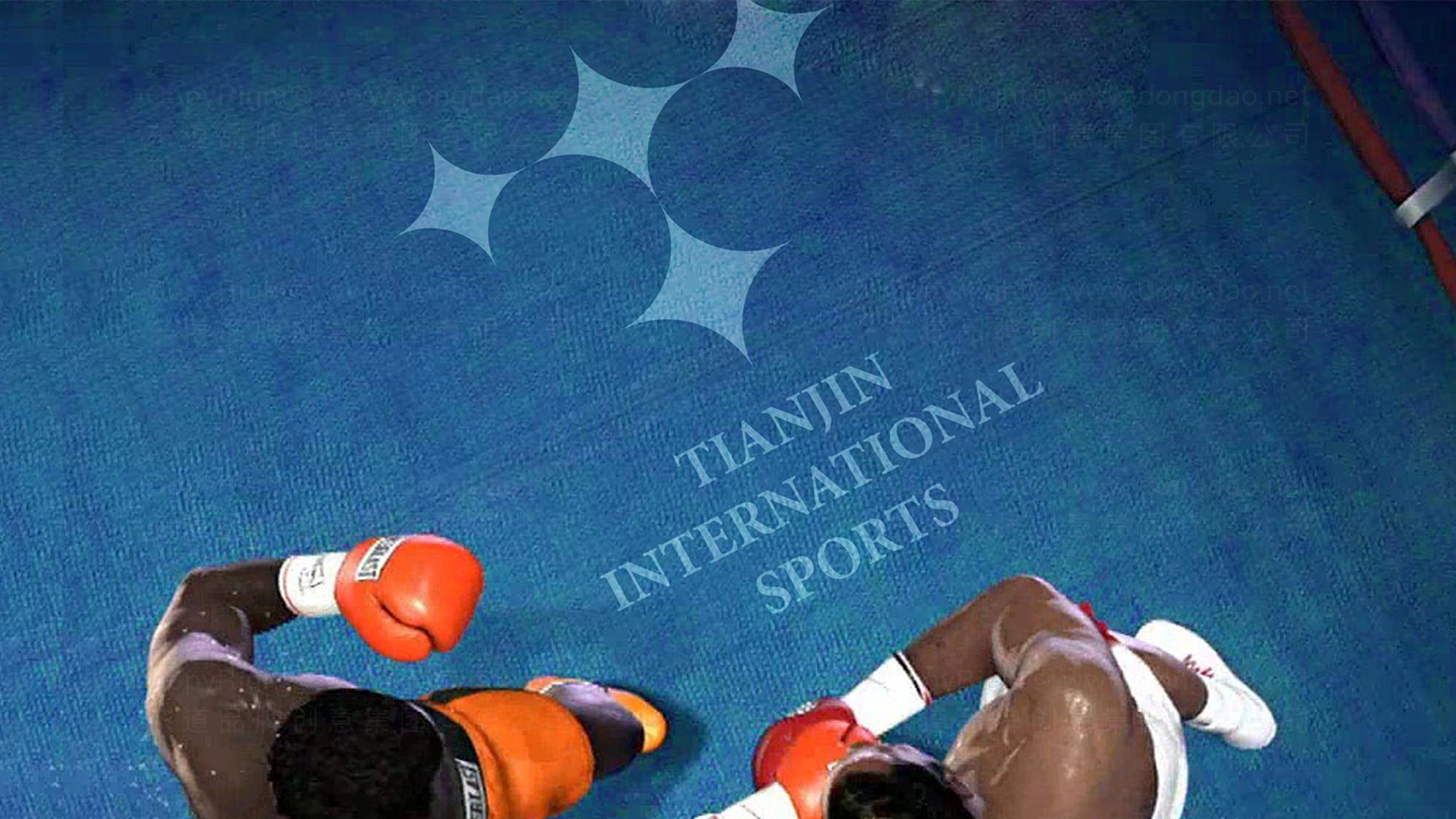 品牌设计案例天津国际体育LOGO&VI设计