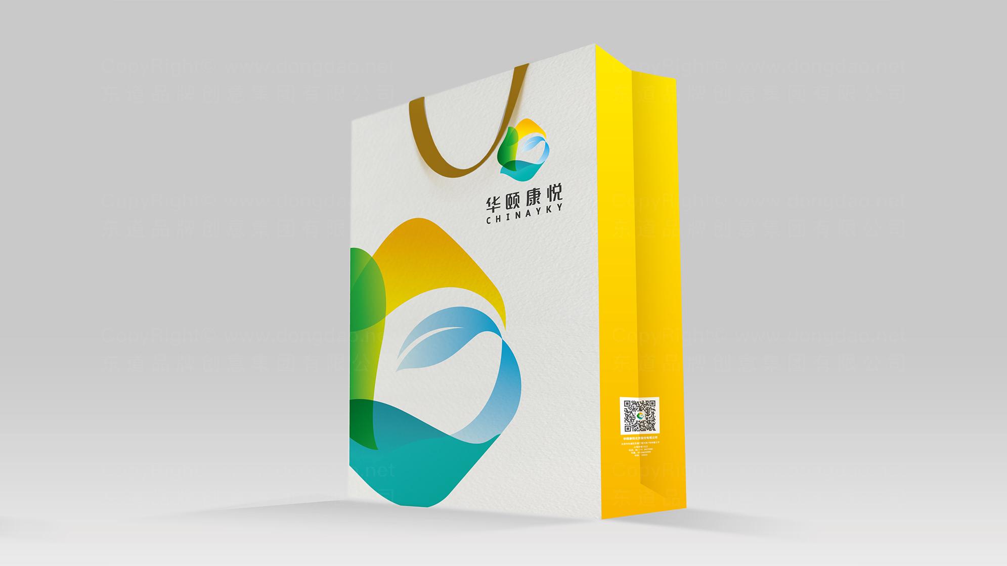 品牌设计华颐康悦标志设计应用场景