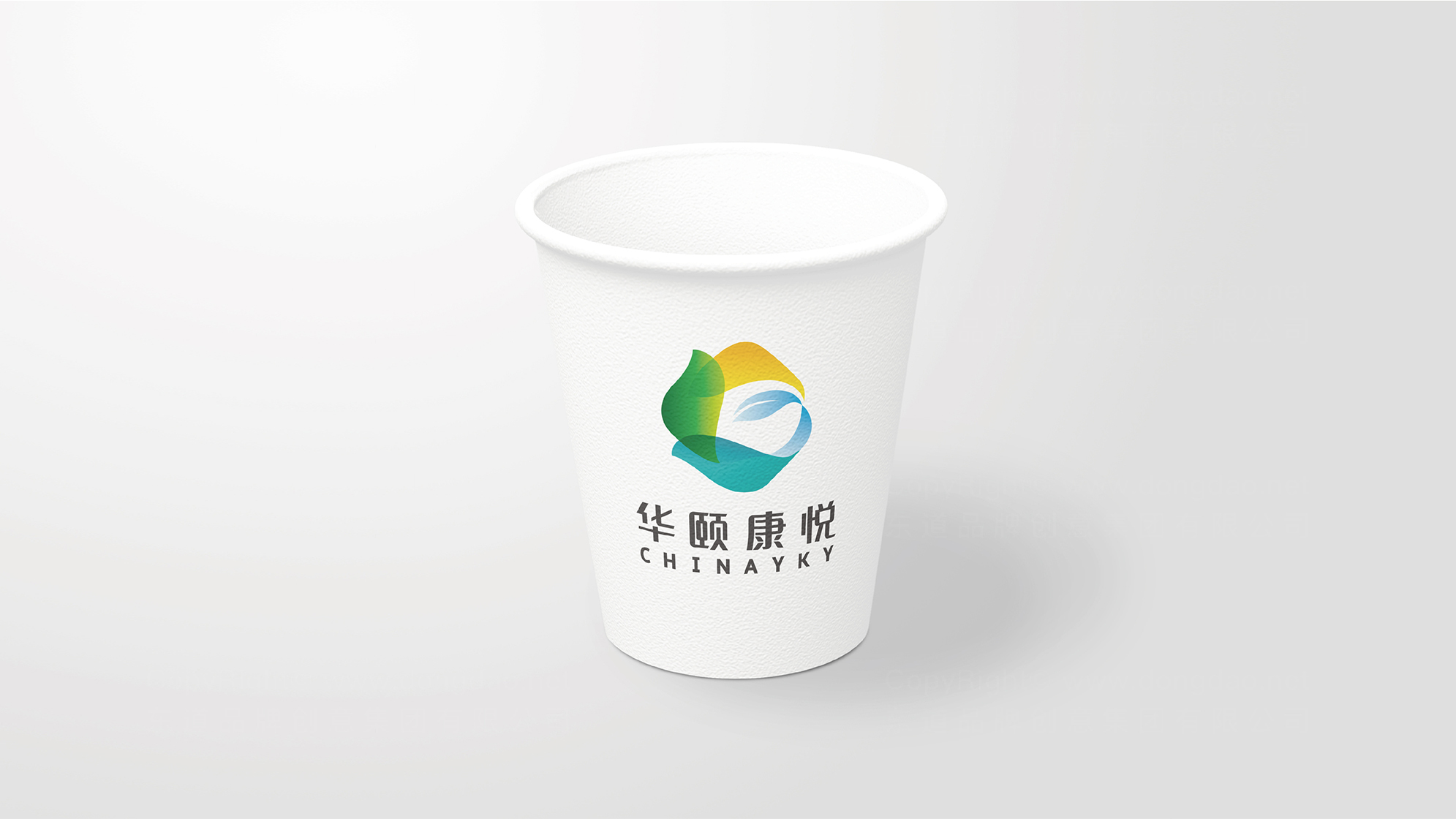 品牌设计华颐康悦标志设计应用场景_2