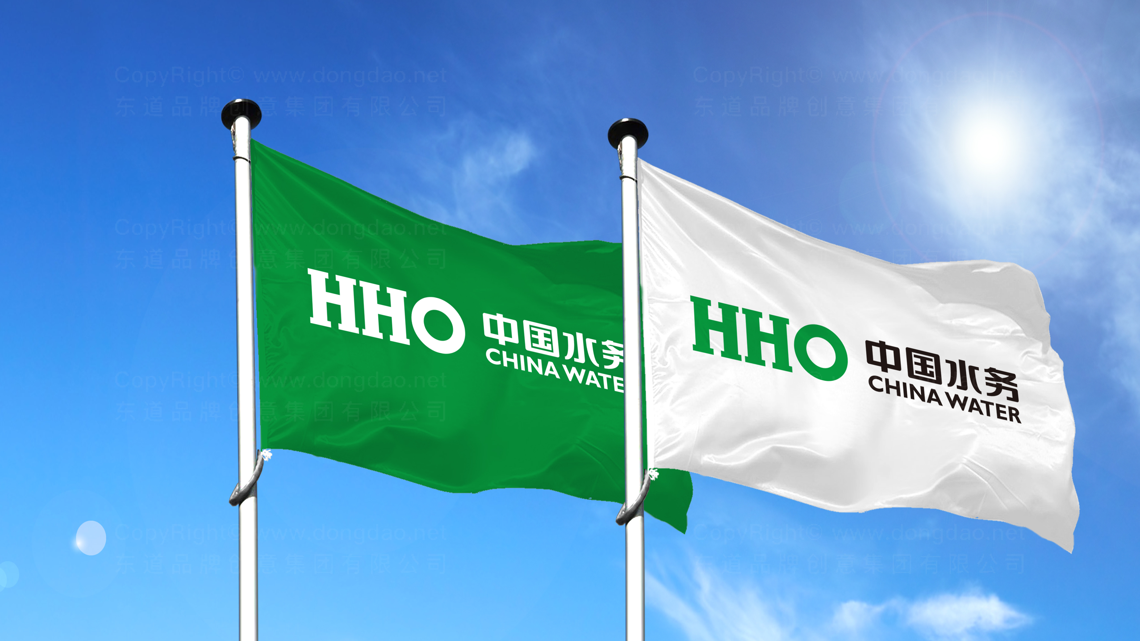 品牌设计中国水务标志设计应用场景