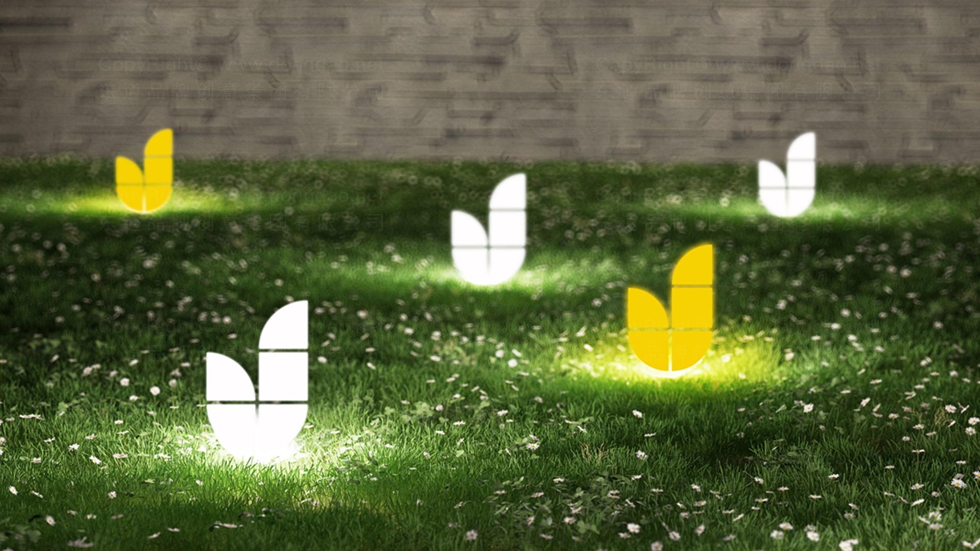 品牌设计案例金华园林标志设计