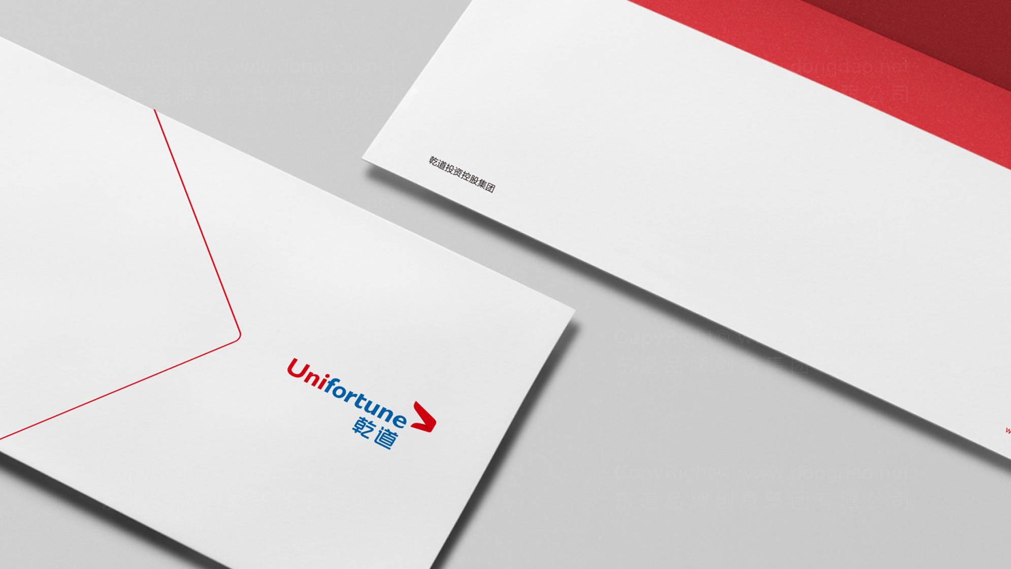品牌设计乾道投资标志设计应用