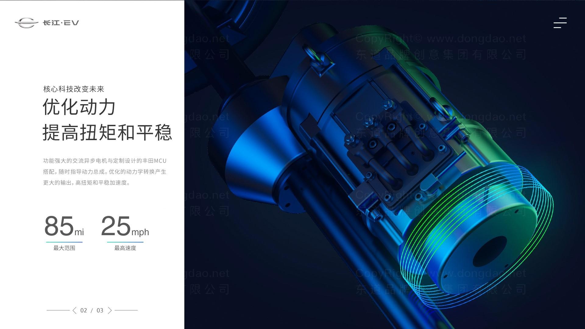 东道数字长江汽车网站设计应用场景