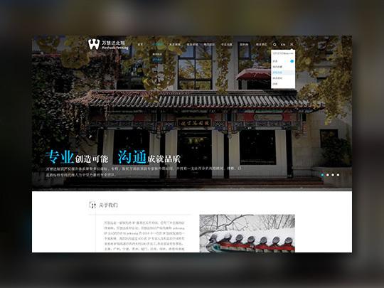 东道数字万慧达网站设计应用场景_3