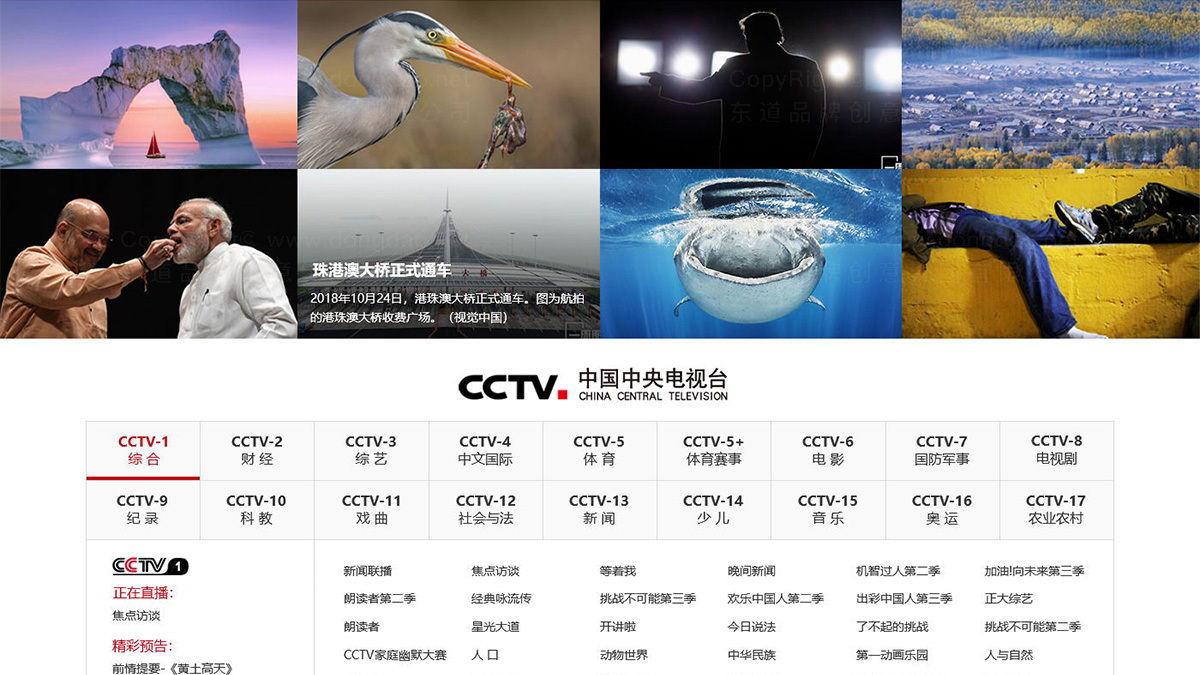 亚博APP数字央视网首页+频道页设计应用场景_4