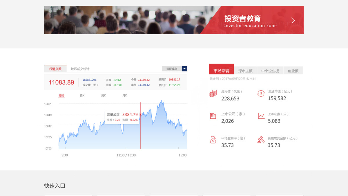 东道数字深圳证券交易所移动App应用应用