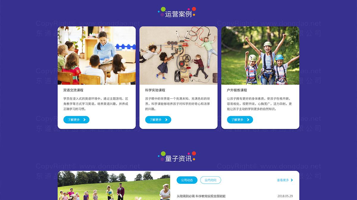 东道数字量子世界网站设计应用场景