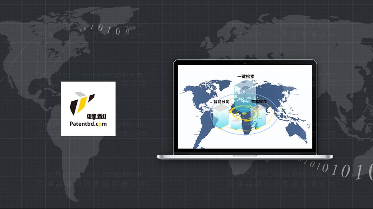 东道数字案例中国专利网站设计