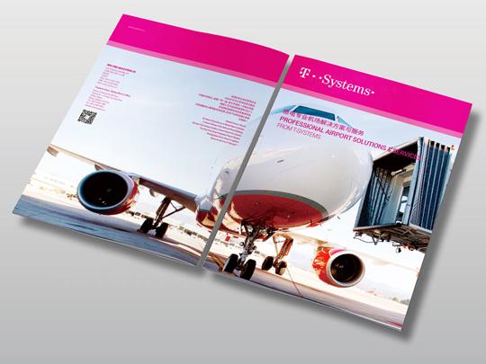 视觉传达T-Systems德国电信画册设计应用场景_4