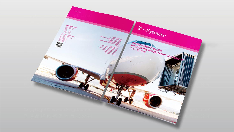 视觉传达案例T-Systems德国电信画册设计