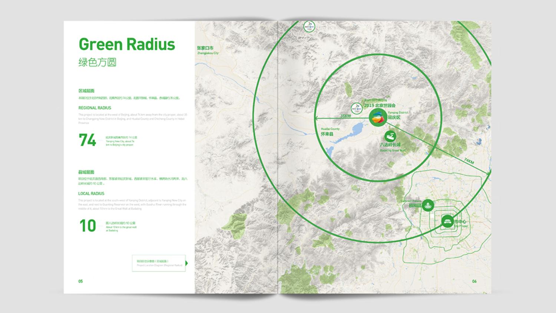 视觉传达2019北京世园会画册设计应用场景