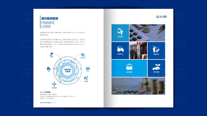 视觉传达海尔画册设计应用场景_5