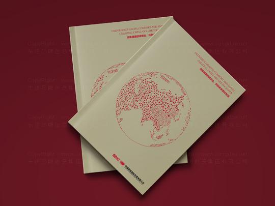 视觉传达国投贸易画册设计应用场景_8