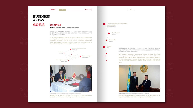 视觉传达国投贸易画册设计应用场景_7