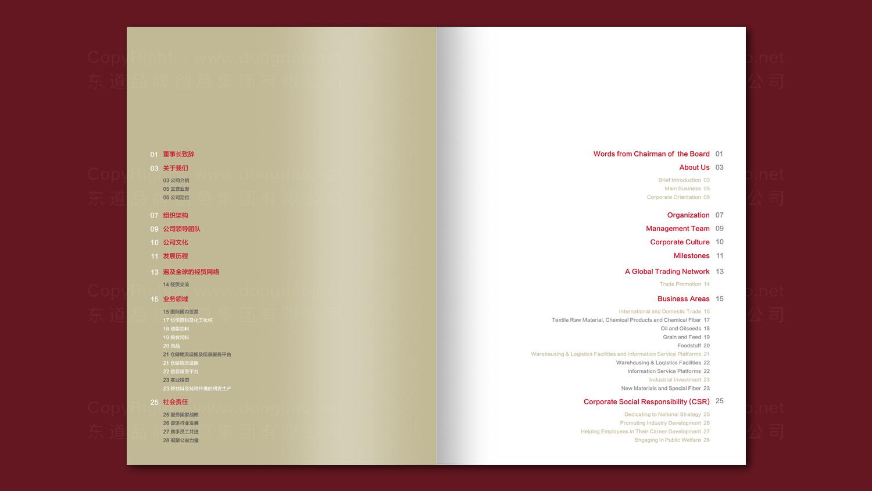 银行金融视觉传达国投贸易画册设计