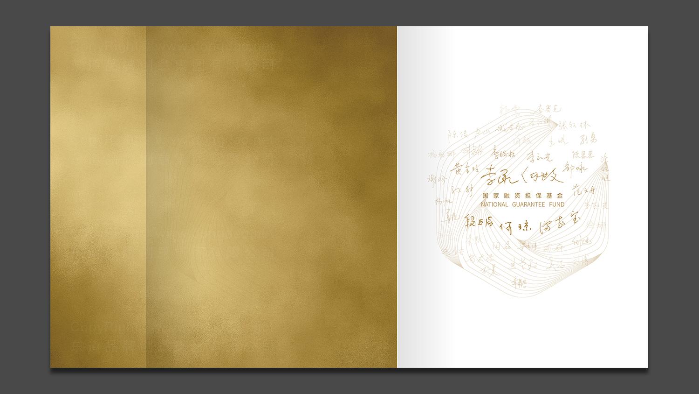 银行金融视觉传达国家融资担保画册设计