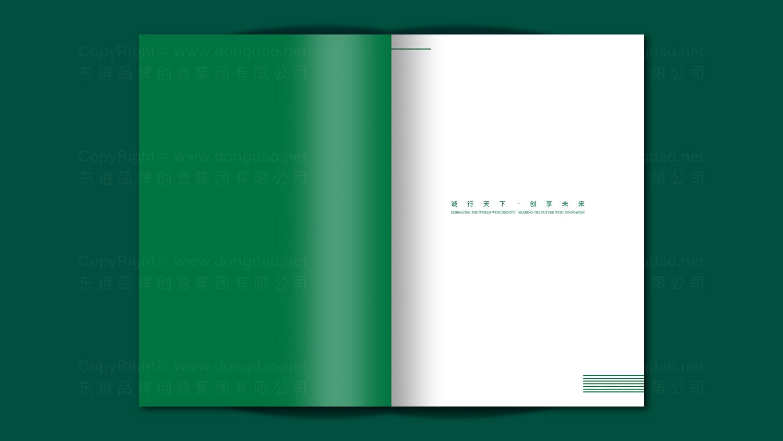 能源材料视觉传达伊泰集团集团宣传册