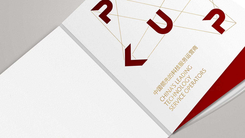 视觉传达北大科技园画册设计应用