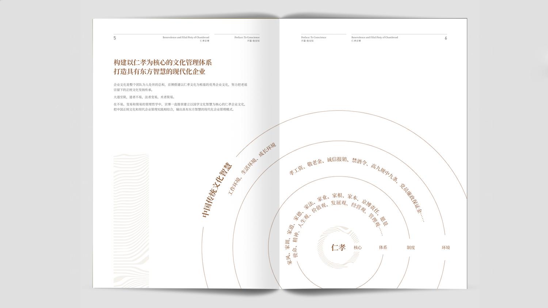 能源材料视觉传达山东京博画册设计